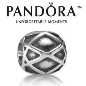 790165 Retired Pandora Halloween Spider Web bead
